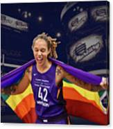 Brittney Griner Lgbt Pride 3 Canvas Print