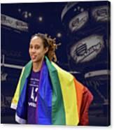 Brittney Griner Lgbt Pride 4 Canvas Print