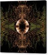 Broach Of Dried Leaves / Warm  Canvas Print