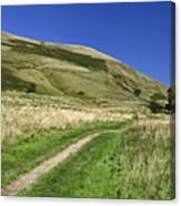Broadlee-bank Tor From The Pennine Way Canvas Print