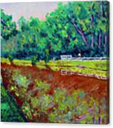 Broadripple Canal Canvas Print