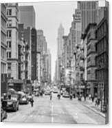 Broadway Chill Canvas Print