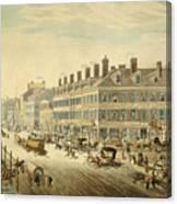 Broadway, New York Canvas Print