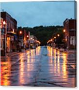 Broadway St. Excelsior Springs, Mo Canvas Print