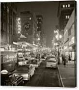Broadway Canvas Print