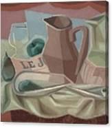 Broc Et Carafe Canvas Print
