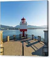 Brockton Point Lighthouse At Stanley Park Canvas Print