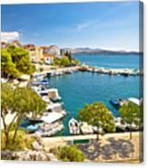 Brodarica Village On Adriatic Sea Canvas Print