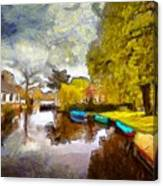 Broek In Waterland Canvas Print