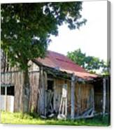 Brokedown Barn Canvas Print