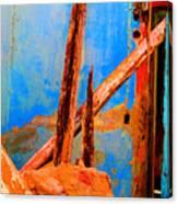 Broken Beams By Michael Fitzpatrick Canvas Print