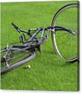 Broken Bike Canvas Print