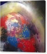 Broken Earth Canvas Print