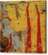 Broken Flames Canvas Print