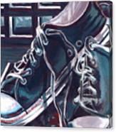 Broken-in Converse Canvas Print