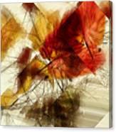 Broken Leaves Canvas Print