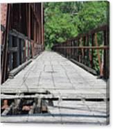 Broken Path Canvas Print