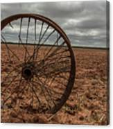 Broken Spokes Canvas Print