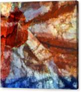 Broken Window Abstract Canvas Print