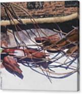 Brokendownontheground Canvas Print