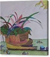 Bromiliad Canvas Print