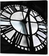 Bromo Seltzer Clock Canvas Print