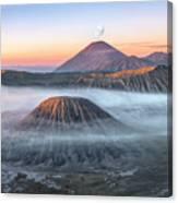 bromo tengger semeru national park - Java Canvas Print