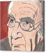 Bronowski Canvas Print