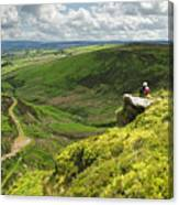 Bronte Country   Yorkshire England Canvas Print