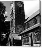 Bronty Church Canvas Print