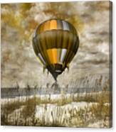 Bronze Beach Ballooning Canvas Print