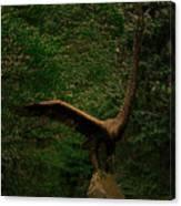 Bronze Eagle Canvas Print