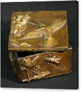 Bronze Hummingbird Box Canvas Print