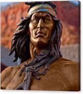 Bronze Native Canvas Print