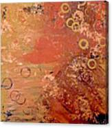 Bronze Oxidation Canvas Print