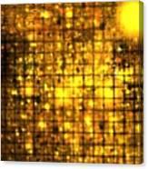Bronze Solar Cubes Canvas Print