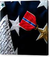 Bronze Star Canvas Print