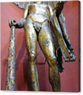 Bronze Statue Of Hercules In The Vatican Museum Canvas Print