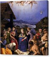 Bronzino Agnolo Painting Canvas Print