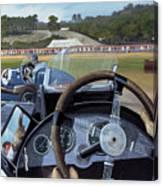 Brooklands From The Hot Seat  Canvas Print