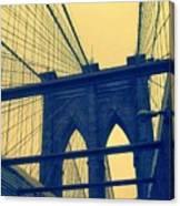 New York City's Famous Brooklyn Bridge Canvas Print