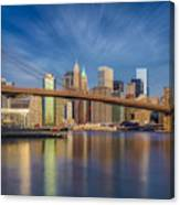 Brooklyn Bridge From Dumbo Canvas Print