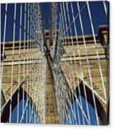Brooklyn Bridge New York City Canvas Print
