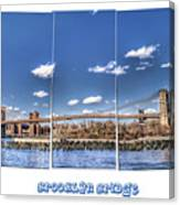 Brooklyn Bridge Pano  Canvas Print