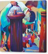 Brooklyn  Fountain Canvas Print