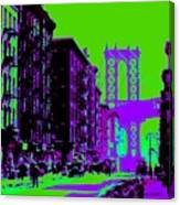 Brooklyn Green Canvas Print
