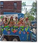 Brooklyn Mermaids Canvas Print