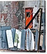 Brooklyn Scene Canvas Print