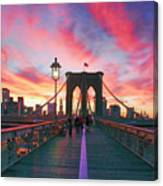 Brooklyn Sunset Canvas Print