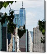 Brooklyn View Of One World Trade Center  Canvas Print
